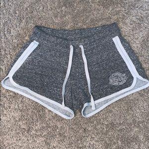 grey shorts | lightly used